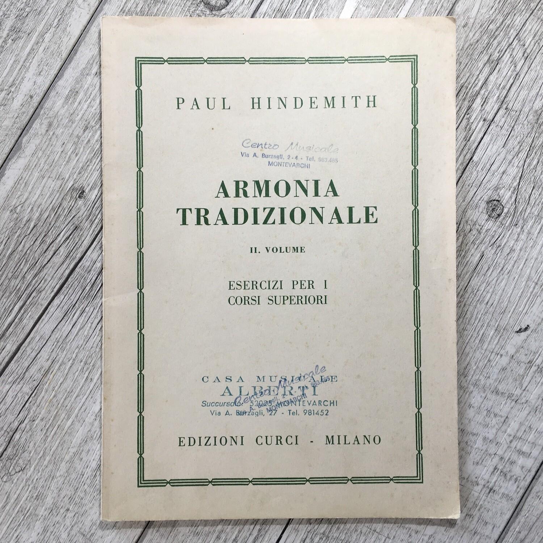 PAUL HINDEMITH - Armonia tradizionale Vol. 2