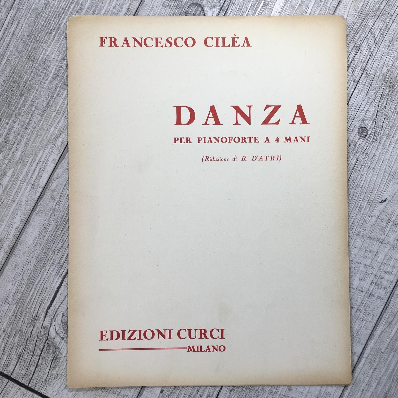FRANCESCO CILÉA - Danza per pianoforte a 4 mani