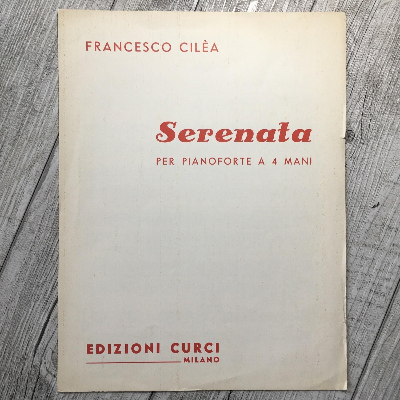 FRANCESCO CILÈA - Serenata per pianoforte a 4 mani