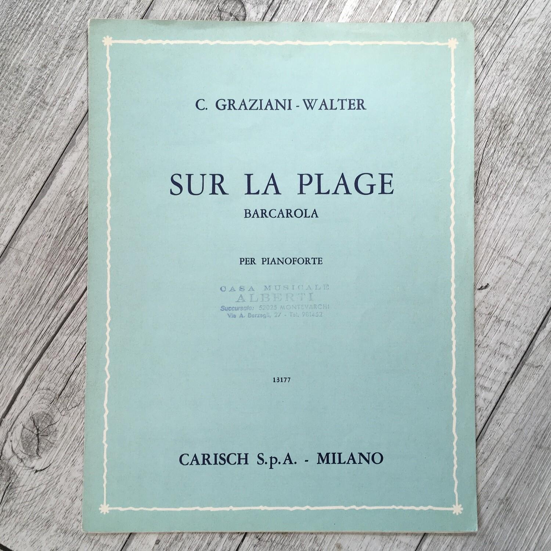 C. GRAZIANI WALTER - Sur la placenta Barcarola per pianoforte