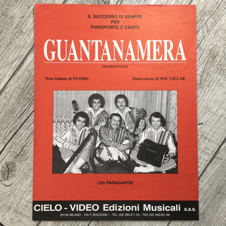 LOS PARAGUAYOS - Guantanamera per pianoforte
