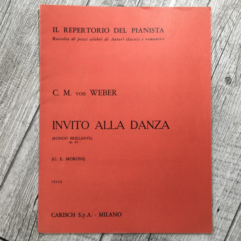 C. M. WEBER - Invito alla danza Rondó brillante Op. 65