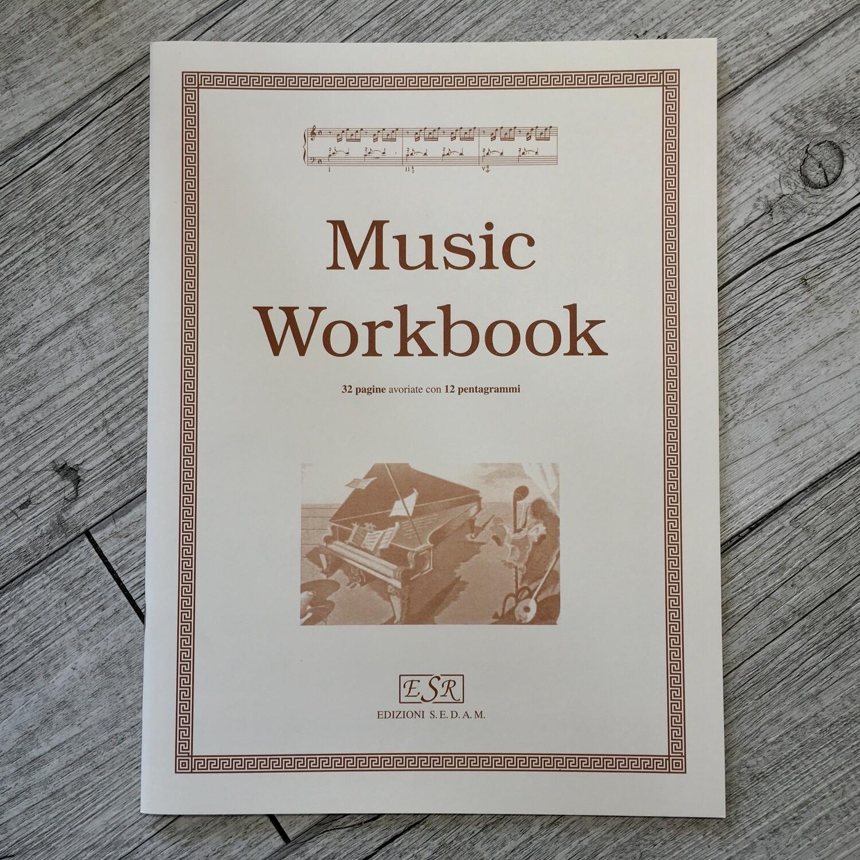 QUADERNO PENTAGRAMMATO - Music workbook