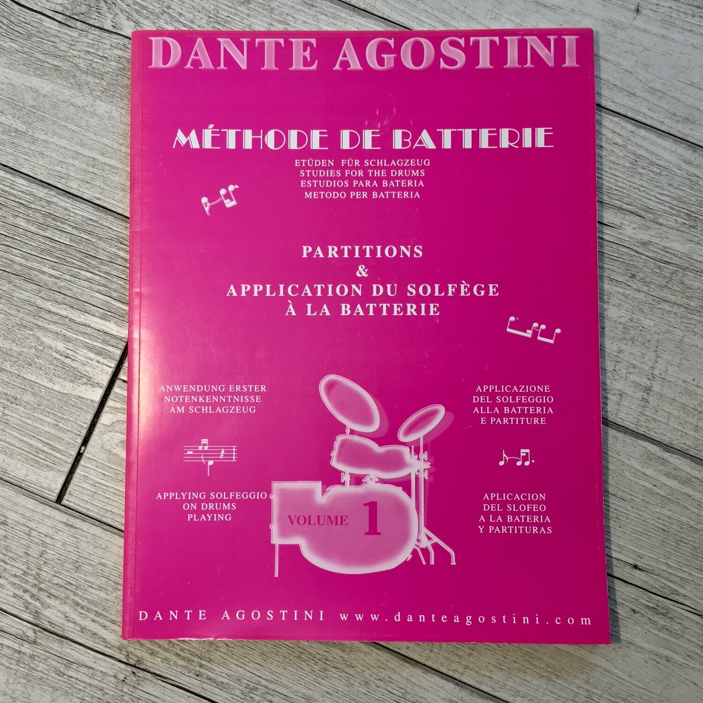 DANTE AGOSTINI - Mèthode de batterie Vol. 1