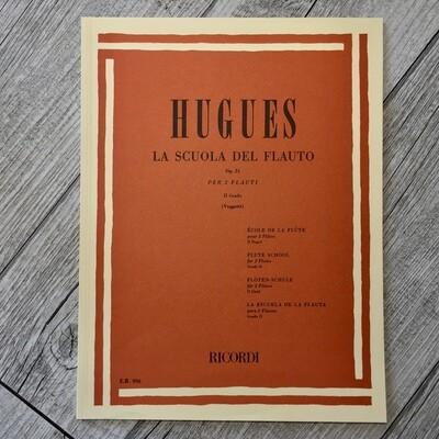 HUGUES - La scuola del flauto per 2 flauti Op. 51