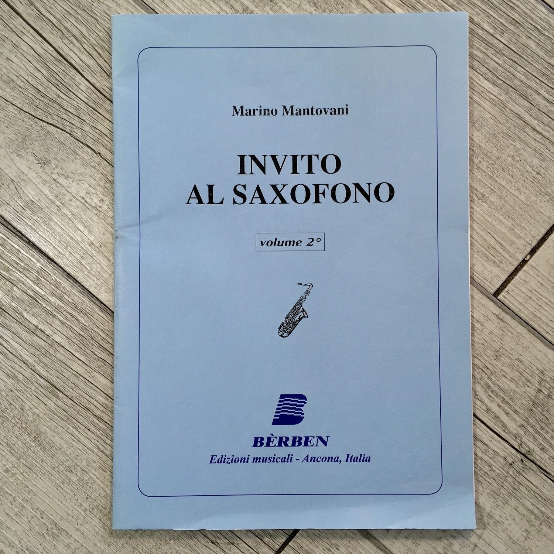 MARINO MANTOVANI - Invito al Saxofono Vol. 2