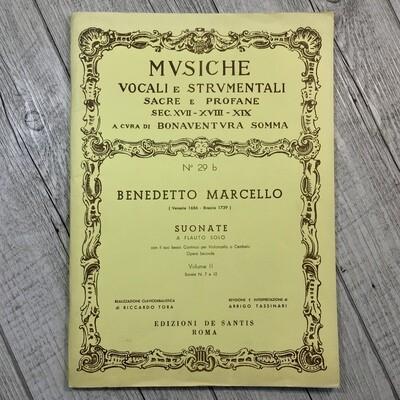 BENEDETTO MARCELLO - Suonate a flauto solo Vol. 2