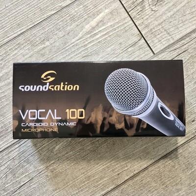 SOUNDSATION VOCAL 100 - Microfono cardioide con cavo