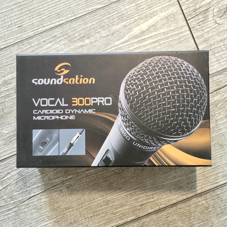 SOUNDSATION VOCAL 300 PRO - Microfono dinamico con cavo