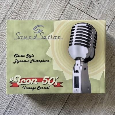 SOUNDSATION ICON 50'S - Microfofono dinamico stile vintage