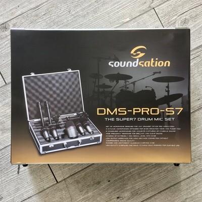 SOUNDSATION DMS PRO S7 - Microfoni Set con valigetta per batteria