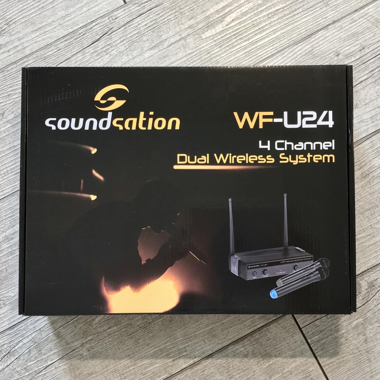 SOUNDSATION WF U24HP - Pack Microfoni wireless 2 archetti