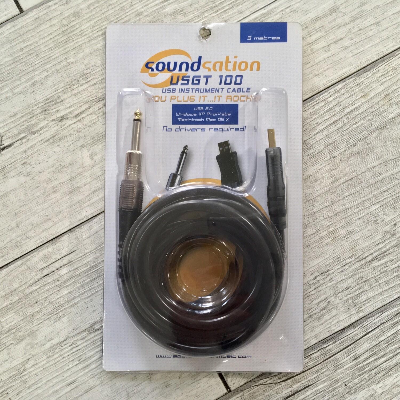 SOUNDSATION USGT 100 - Jack mono USB