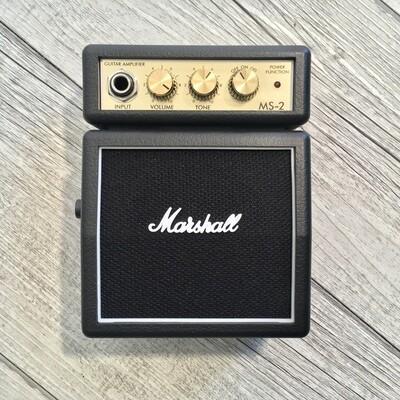 MARSHALL MS2 - Mini amplificatore portatile per chitarra