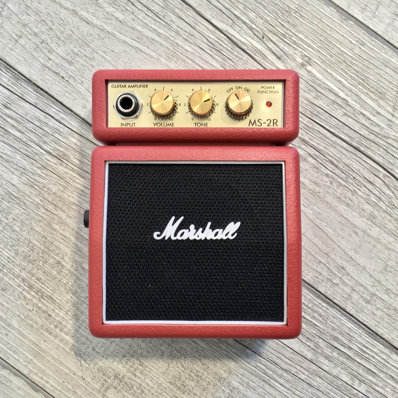MARSHALL MS2R - Mini amplificatore portatile per chitarra