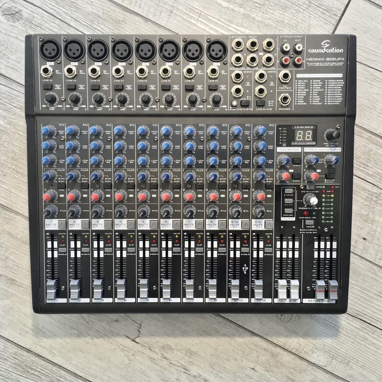 SOUNDSATION - Mixer NEOMIX 802UFX