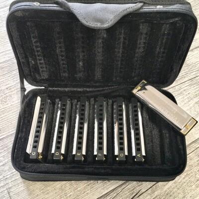 HOHNER - Blues armonica Set