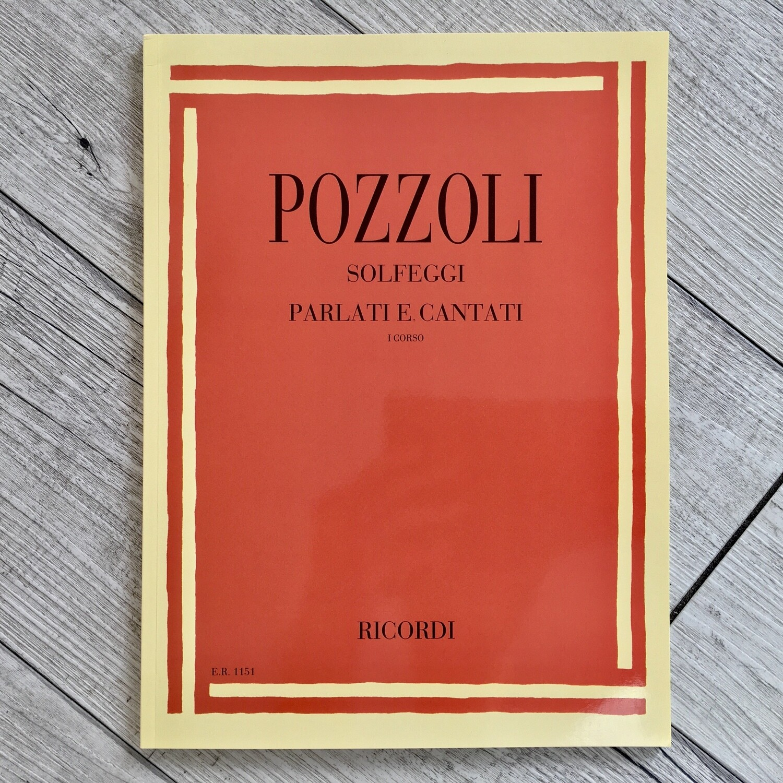 POZZOLI - Solfeggi parlati e cantati Vol. 1