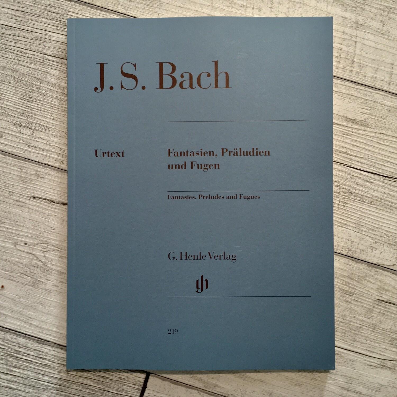 J.S. BACH - Fantasien praludien und fugen