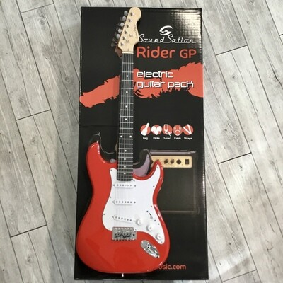 SOUNDSATION RIDER GP - Electric Guitar Pack (Red)