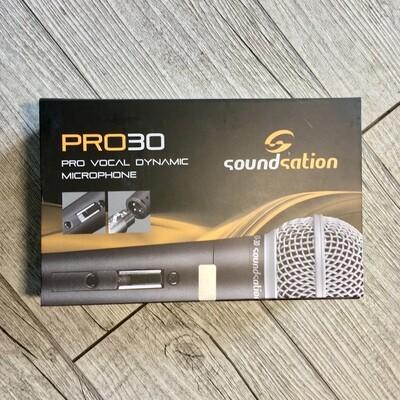 SOUNDSATION PRO30 - Microfono dinamico con cavo