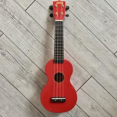 MAHALO - Ukulele soprano rosso