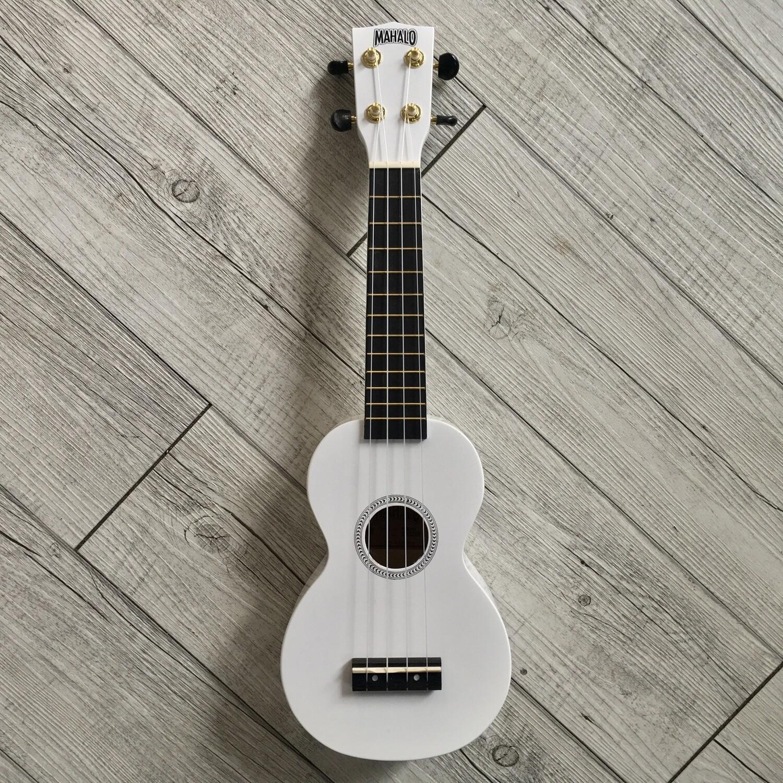 MAHALO - Ukulele soprano bianco