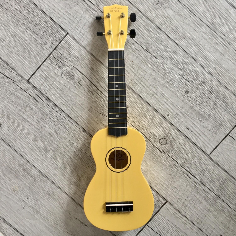 MAUI - Ukulele soprano giallo