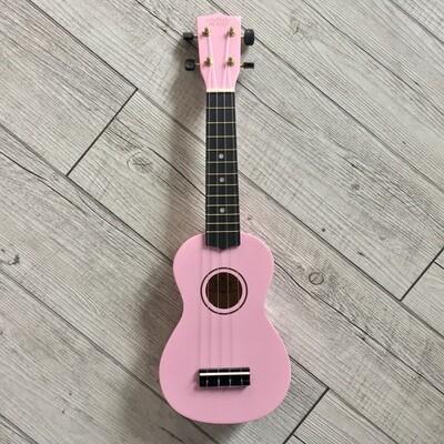 MAUI - Ukulele soprano rosa