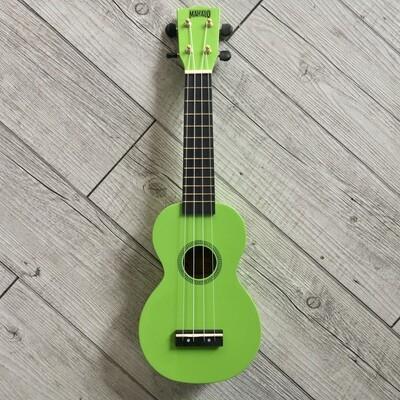 MAHALO - Ukulele soprano verde