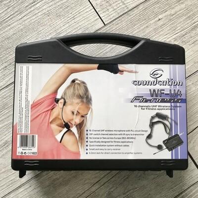 SOUNDSATION WFU4 - Microfono archetto wireless