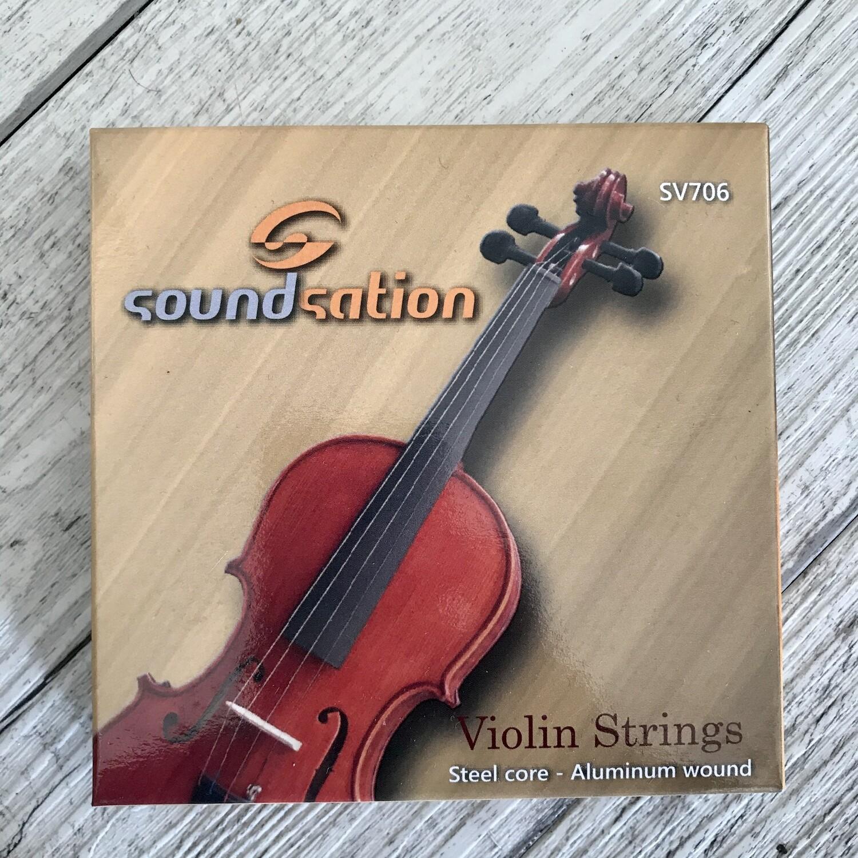 SOUNDSATION SV706 - Corde per Violino 3/4 4/4