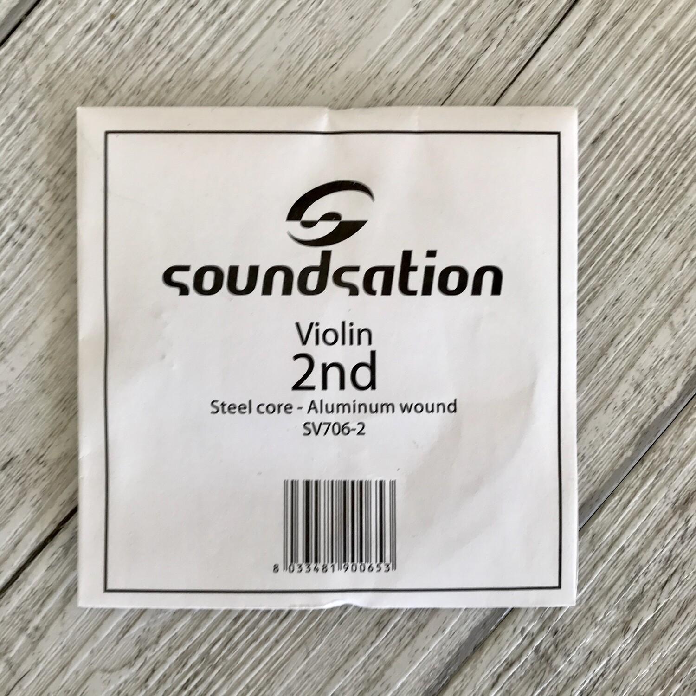 SOUNDSATION - Corda singola LA A II per Violino 3/4 4/4