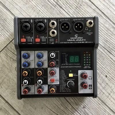 SOUNDSATION MIOMIX 202UFX - Mixer Con Effetti E USB I/O