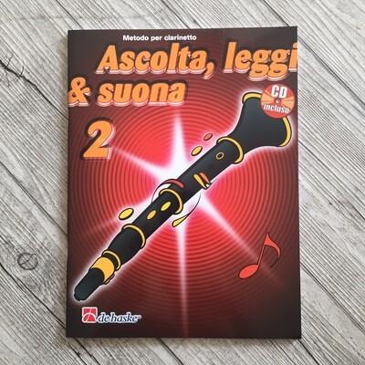 Ascolta Leggi E Suona Volume 2 Clarinetto