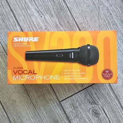 SHURE SV200 - Microfono vocal