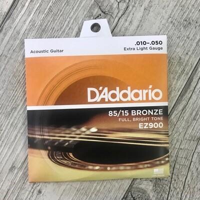 D'ADDARIO EZ900 - 85/15 Bronze 10/50