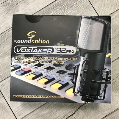 SOUNDSATION VOXTAKER 192 PRO - Microfono USB da studio a condensatore