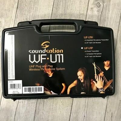 SOUNDSATION WFU11HA TX - Radiomicrofono con valigetta