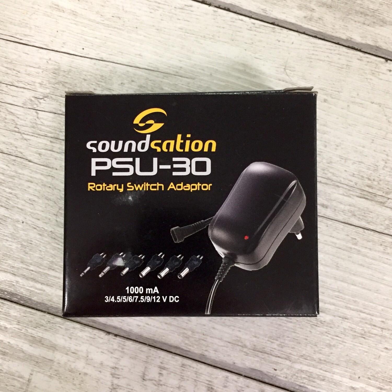 SOUNDSATION PSU30 - Alimentatore multi tensione 1000 mA