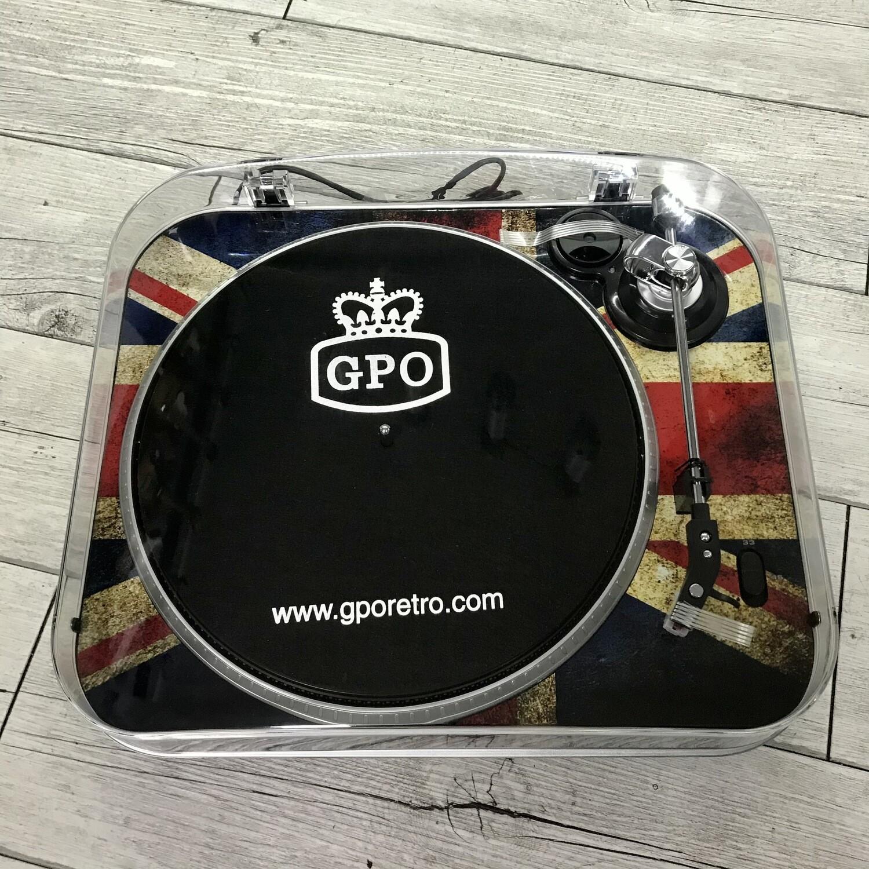 GPO - Giradischi portatile Retrò