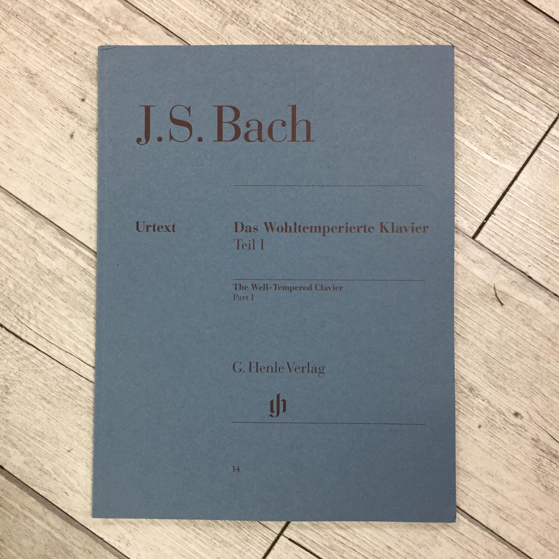 J. S. BACH - Das Wohltemperierte Klavier Teil 1