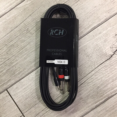 RCH NS4/3 - JACK stereo JACK (3,5) 3 m