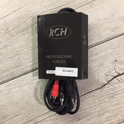 RCH AC45/3 - RCA stereo JACK (3,5) 3 m