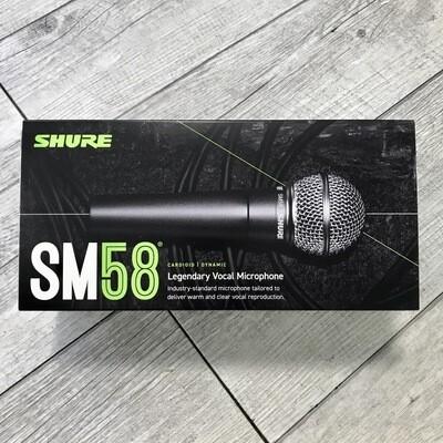 SHURE SM58 - Microfono cardioide dinamico per voce