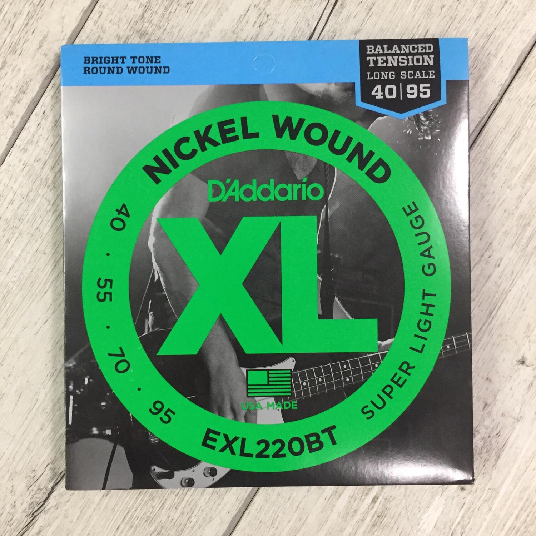 D'ADDARIO EXL220BT - Nickel Wound Bass 40/95