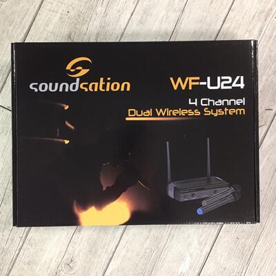 SOUNDSATION WFU24 - Radio microfono doppio