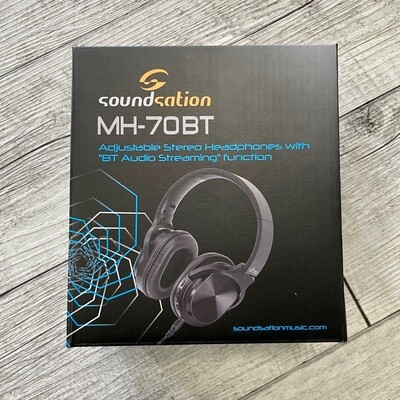 SOUNDSATION MH-70BT - Cuffie Stereo with BT Audio Streaming