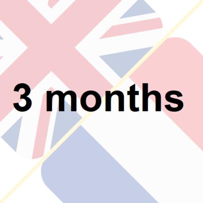 3 months insurance