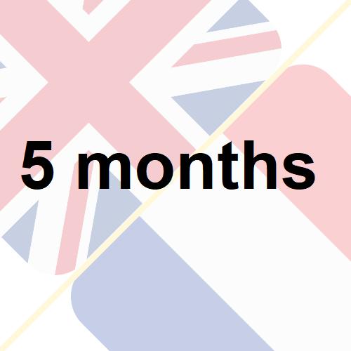 5 months insurance